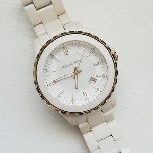 Michael Kors watch ivory